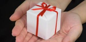 Cadeau voor klanten