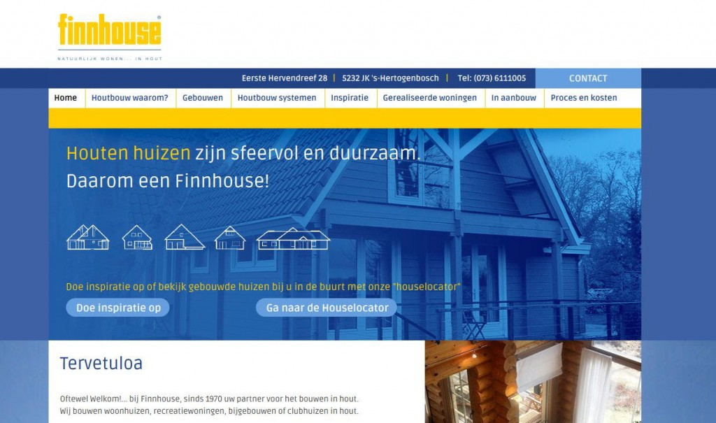Website Finnhouse